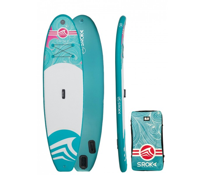 Paddle gonflable Sroka Malibu 10' Girly (Une fille 2018)