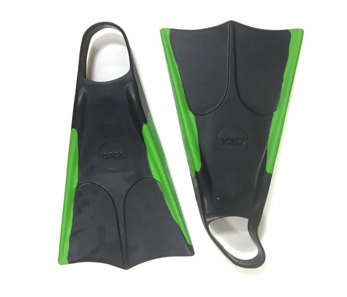 Palmes de bodyboard Orca (Noir/Vert)