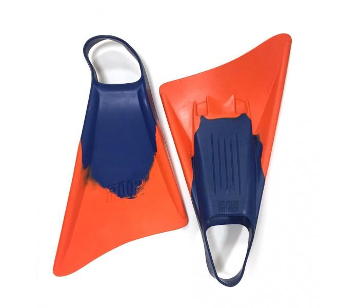 Palmes de bodyboard RIP (Bleu/Orange)