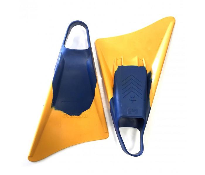 Palmes de bodyboard Stealth S3 (Blue/Gold)