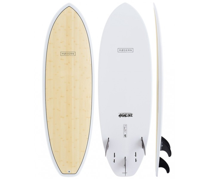 Planche de surf Global Surf Industries Modern Highline X2 6'4 (Bamboo)