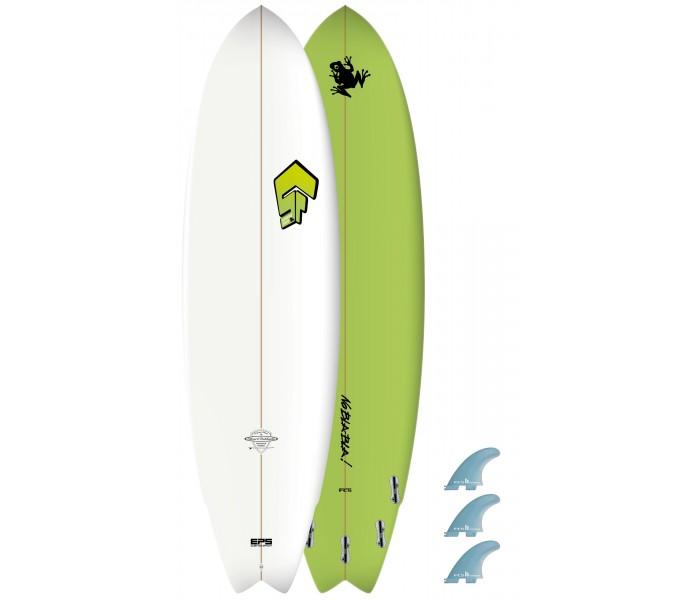 Planche de surf Superfrog 6'4 Hydro Fish