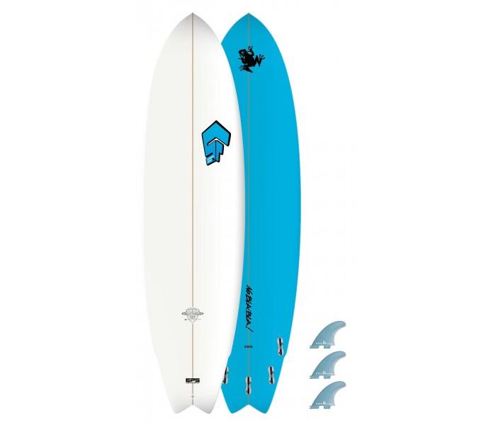 Planche de surf Superfrog 6'8 Hydro Fish
