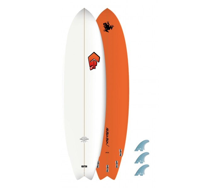 Planche de surf Superfrog 7'0 Hydro Fish
