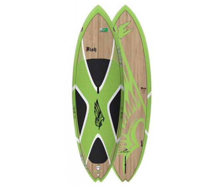 SUP de vagues Exocet Fish 7'11'' (Bamboo)