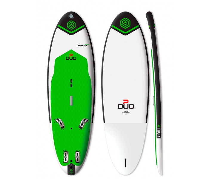 Planche à voile gonflable Duo Boards Duo Wind Eco 140 L.