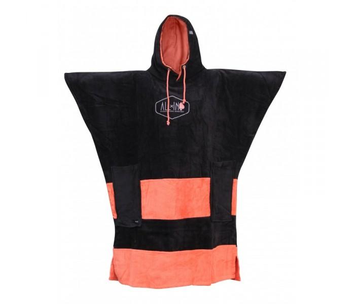 Poncho All-in V Flash (Black/Coral)