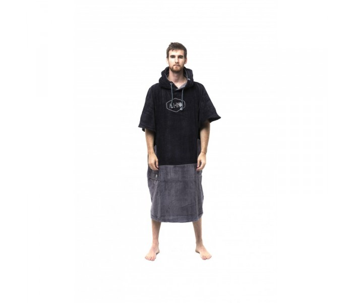 Poncho All-in V Big Foot (Blackcharcoal)