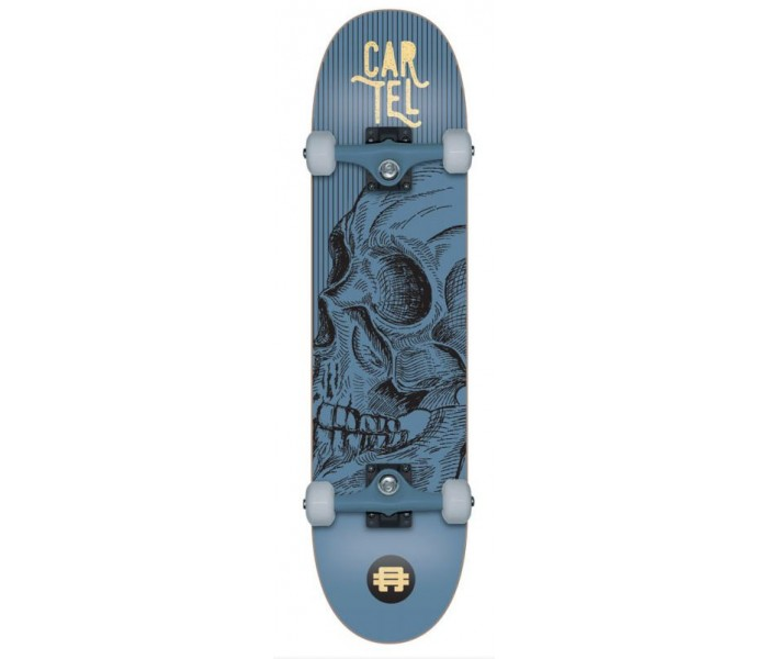 Skate Cartel 7.8 Calavera (Metal Blue)