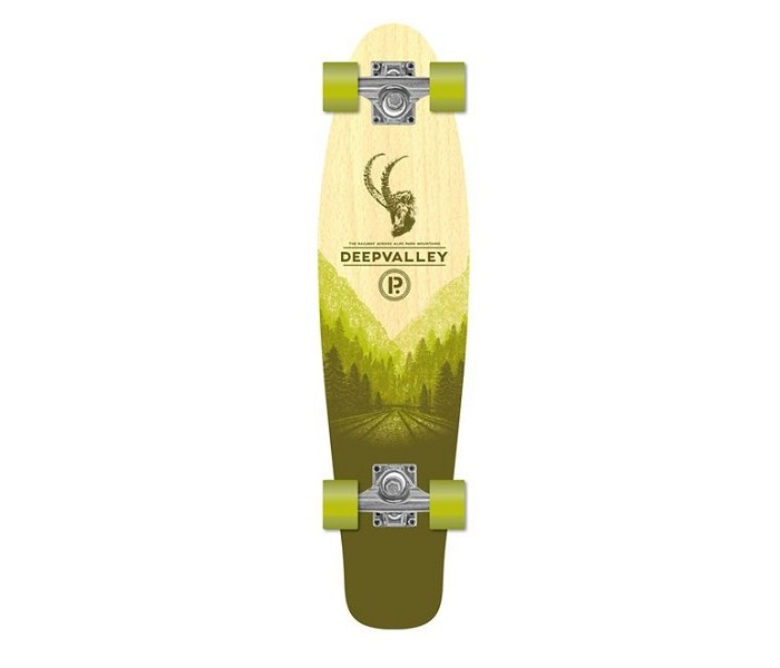 Mini-Longskate Prohibition Retro Wood DeepValley