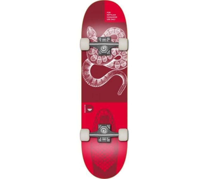 Skate Demented Reptilian Red