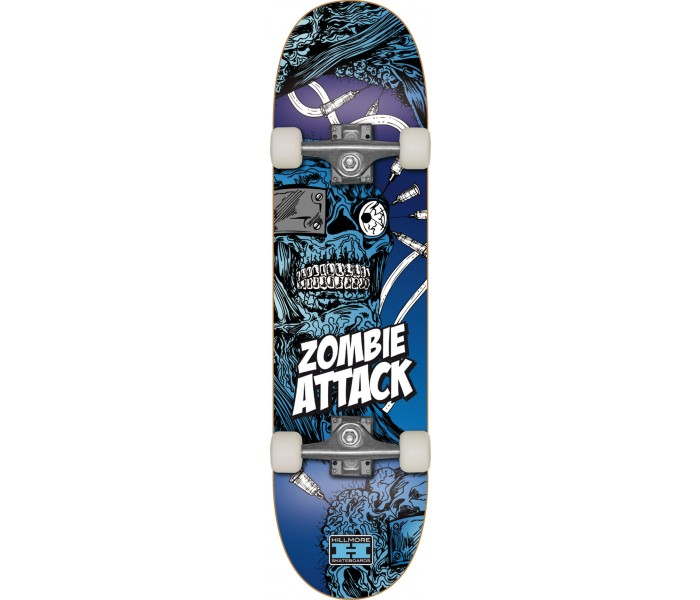 9b4ce212021f39 Skate Hillmore Zombie Attack : Acheter un skate pas cher en promo