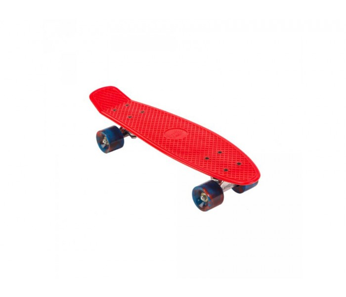 Skate Mini Cruiser Street Surfing Beach Board (Rouge)