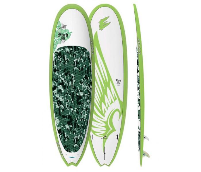 SUP de surf Exocet Fish Nose Rider 9'6 (AST)