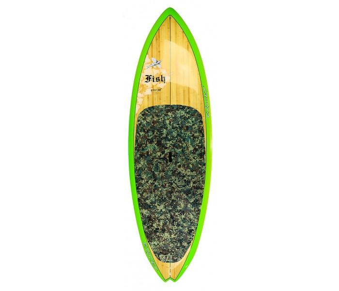 SUP de surf Exocet Fish 8'11'' x 30'' (Bamboo)