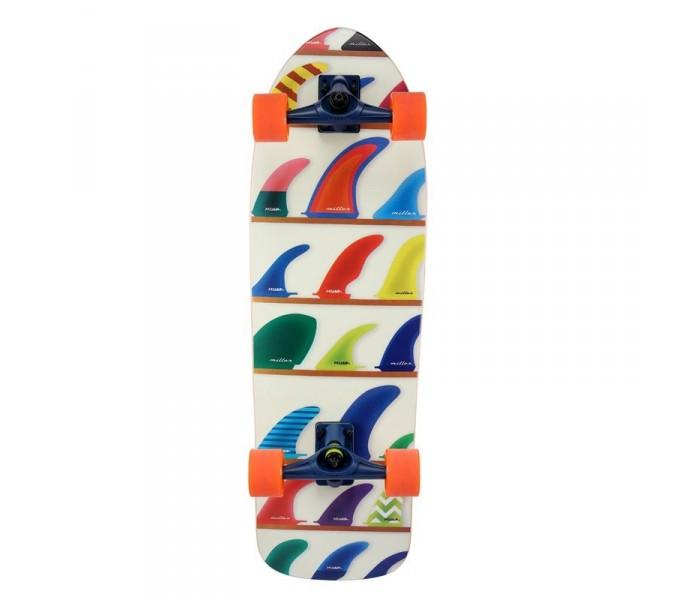 SurfSkate Miller Wheels&Fins 32 (Pour Carver)