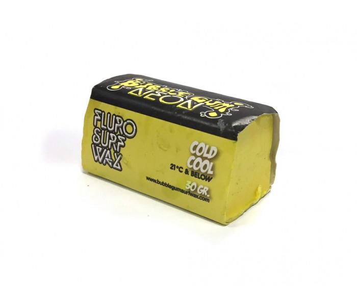 Wax colorée Bubble Gum Cold Neon 30 gr. (Jaune)