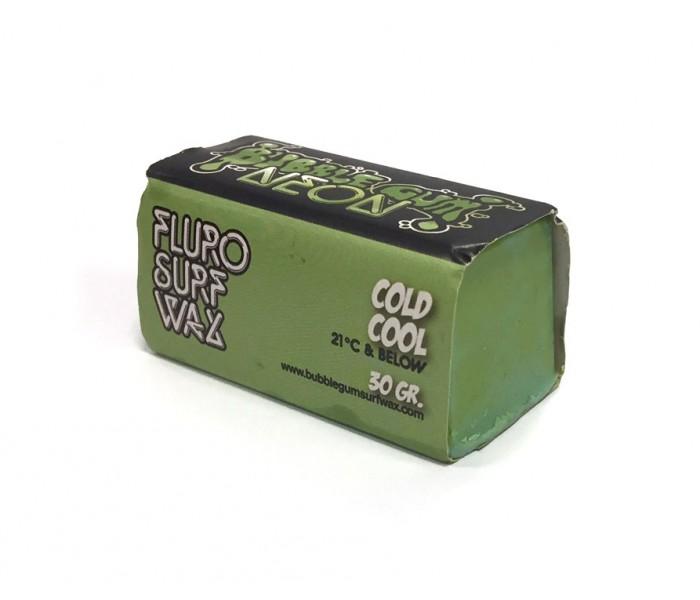 Wax colorée Bubble Gum Cold Neon 30 gr. (Vert)