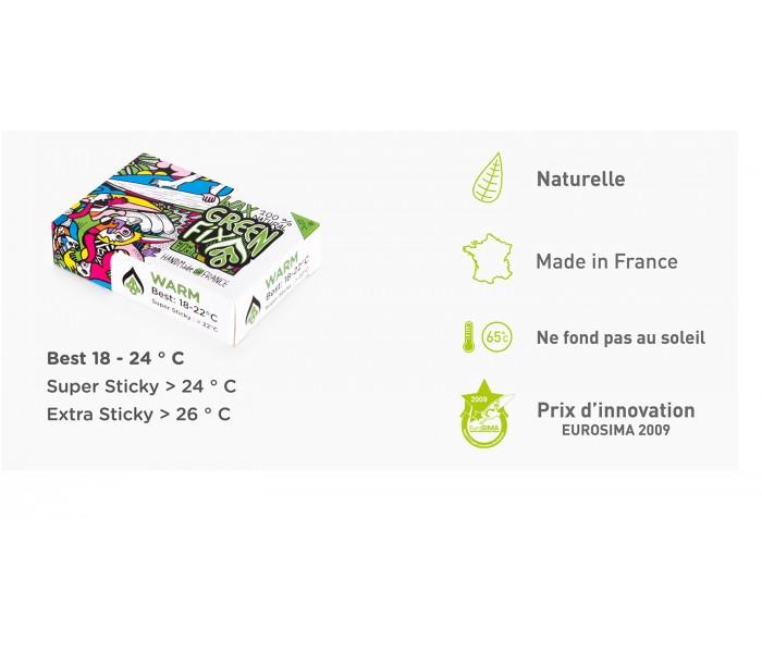 Wax Greenfix Warm (18 à 27°C)