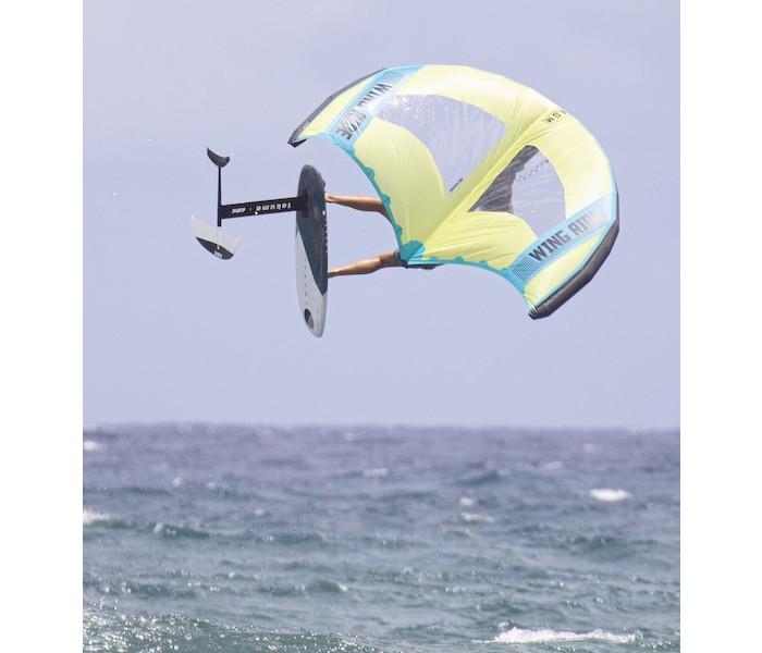 Aile de Wing surf Takuma Wing Rider 5 m² (Jaune et bleu)