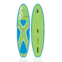 SUP paddle gonflable Exocet Discovery 10'8 (Vert/Bleu) + Leash + Pagaie