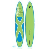 SUP paddle gonflable Exocet Discovery 12'6 + Leash + Pagaie