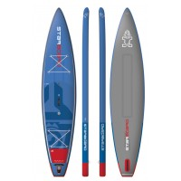 Paddle gonflable Starboard Touring Deluxe 12'6 x 31 x 6 (Homologué mer Division 245) 2018