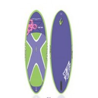 SUP gonflable Exocet Discovery 9'8 (Fushia) + Leash + Pagaie