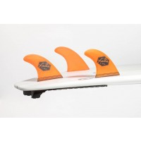 Ailerons de surf Feather Fins UltraLight FCS M (Orange)