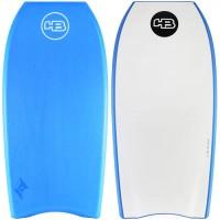 Bodyboard HB Hot Buttered Epic Dual 38 PE (Aqua/Blanc)