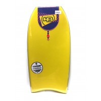 Bodyboard HB Epic Raw NRG 40 (Jaune/Orange)