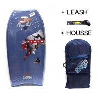 Body Manta Phantom PE 42 (Bleu foncé 2) + Leash + Housse