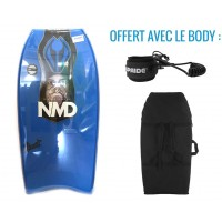 Body NMD Element 40 PE HD (Bleu/Blanc) + Housse + Leash
