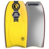 Bodyboard Pride The Anagram EPS HD 42 (Jaune/noir/gris)