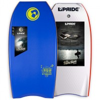 Bodyboard Pride The Stereo PE 41 (Bleu/rouge/blanc)