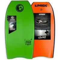 Bodyboard Pride The Stereo PE 38 (Vert/noir/orange)