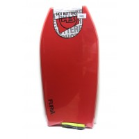 Bodyboard HB Hot Buttered Furia 41 EPS (Rouge) + Leash