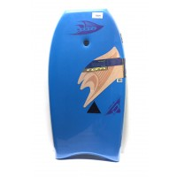 Bodyboard Manta Drive PE 40 (Bleu clair) + Leash + Housse