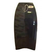 Bodyboard Milk Airflex 2 stringers 41.5 (Noir/Noir)