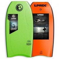 Bodyboard Pride Phantom S-REACT/PE HD 38 (Vert)