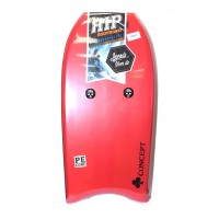 Bodyboard RIP Concept PE 41 (Rouge/blanc) + Leash + Housse