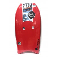 Bodyboard RIP Concept PE 46 (Rouge) + Housse