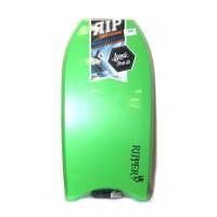 Bodyboard RIP Ripper EPS 40 (Vert/Orange) + Leash