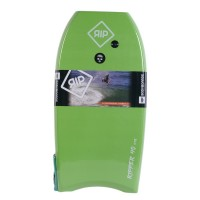 Bodyboard RIP Ripper EPS 38 (Vert/blanc) + Leash