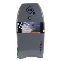 Bodyboard RIP Ripper EPS 40 (Gris/bleu) + Leash