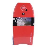 Bodyboard RIP Ripper EPS 40 (Rouge/blanc) + Leash