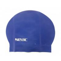 Bonnet de bain piscine enfant Seac (Bleu)