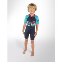 Shorty enfant C-Skins C-KID Wave Bleu (3/2 mm)