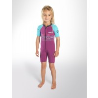 Shorty enfant C-Skins C-KID Wave Mauve (3/2 mm)