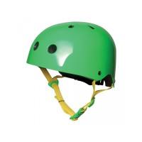 Casque Kiddi Moto Neon vert